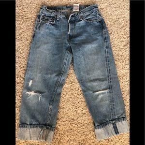 Levi premium collectible straight cuff jean